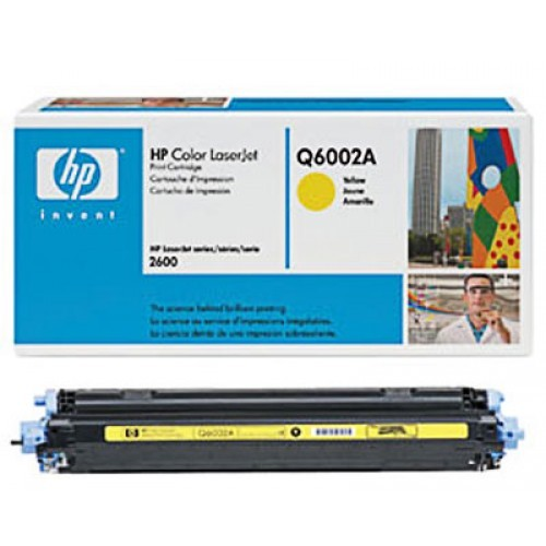 ТОНЕР HP 124A Yellow