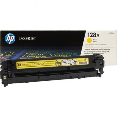 ТОНЕР HP 128A Yellow
